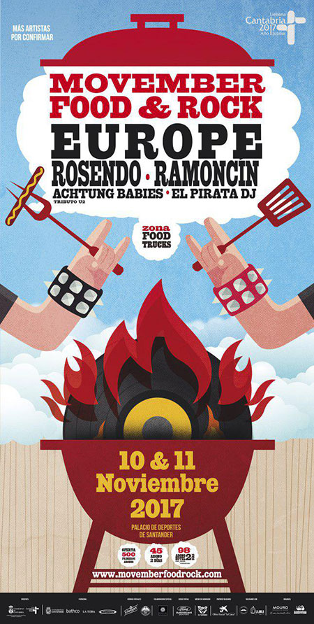 Santander – Movember Food & Rock